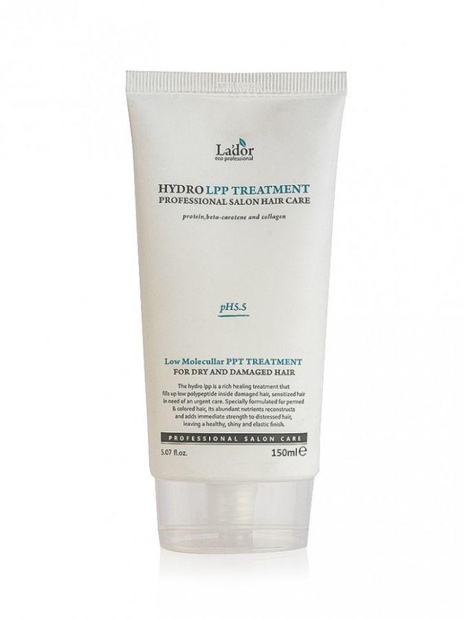 Маска увлажняющая для сухих и поврежденных волос Lador eco hydro LPP treatment 150 мл