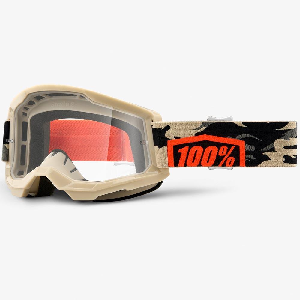 100% Strata 2 Kombat Clear Lens, очки