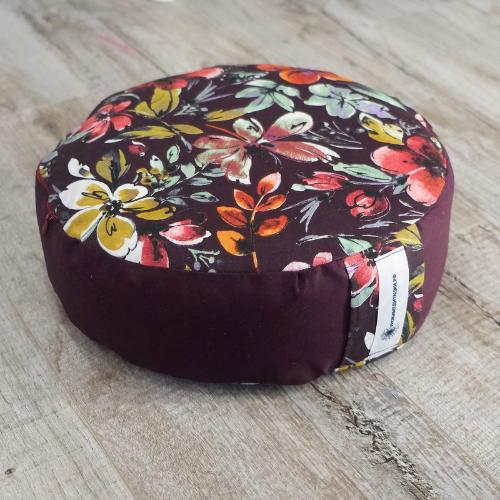 """Круглая подушка для медитации """"Рубин"""""""