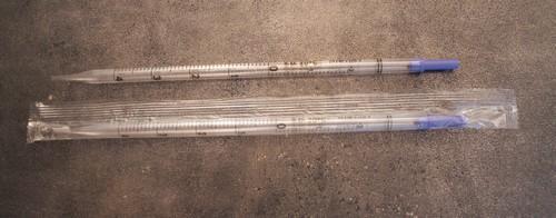 Пипетки серологические стерильные, индивидуальная упаковка - 5 мл (упаковка 50 шт)