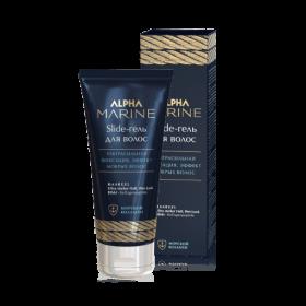 Slide-гель для волос ультра сильная фиксация ALPHA MARINE, 100 мл
