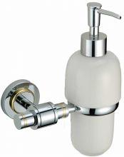 S-007931 Alster SAVOL Дозатор жидкого мыла, стеклянный латунный.Хром-золото