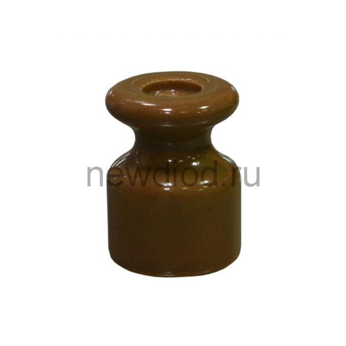 Изолятор керамический, цвет капучино