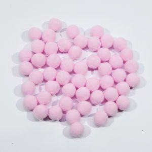Помпоны, размер 15 мм, цвет 33 бледно-розовый (1уп = 50шт)