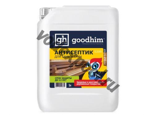Антисептик для бань и саун Goodhim S200 5л