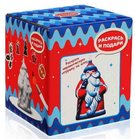 Фигура для раскрашивания из керамики Дед Мороз