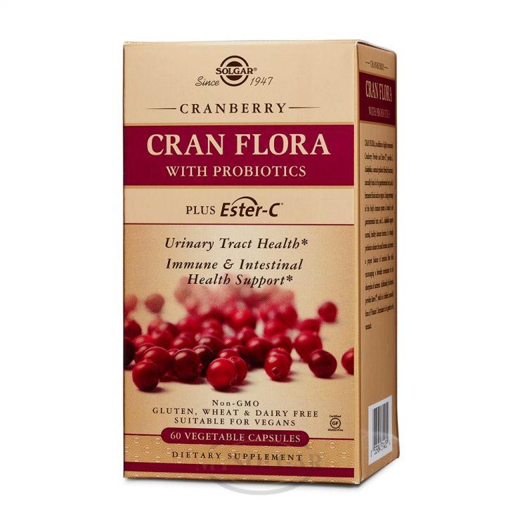 Кран Флора с клюквой, пробиотиками и Эстер-С
