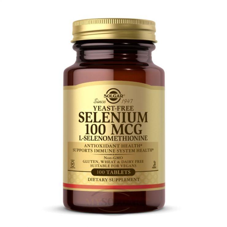 Солгар Селен-6 100 мкг в таблетках