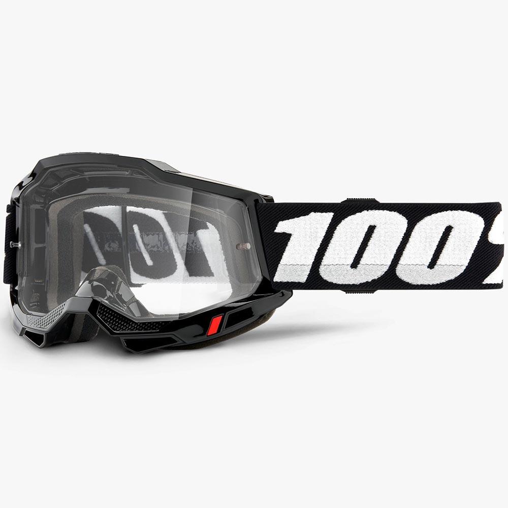 100% Accuri 2 Black Clear Lens, очки