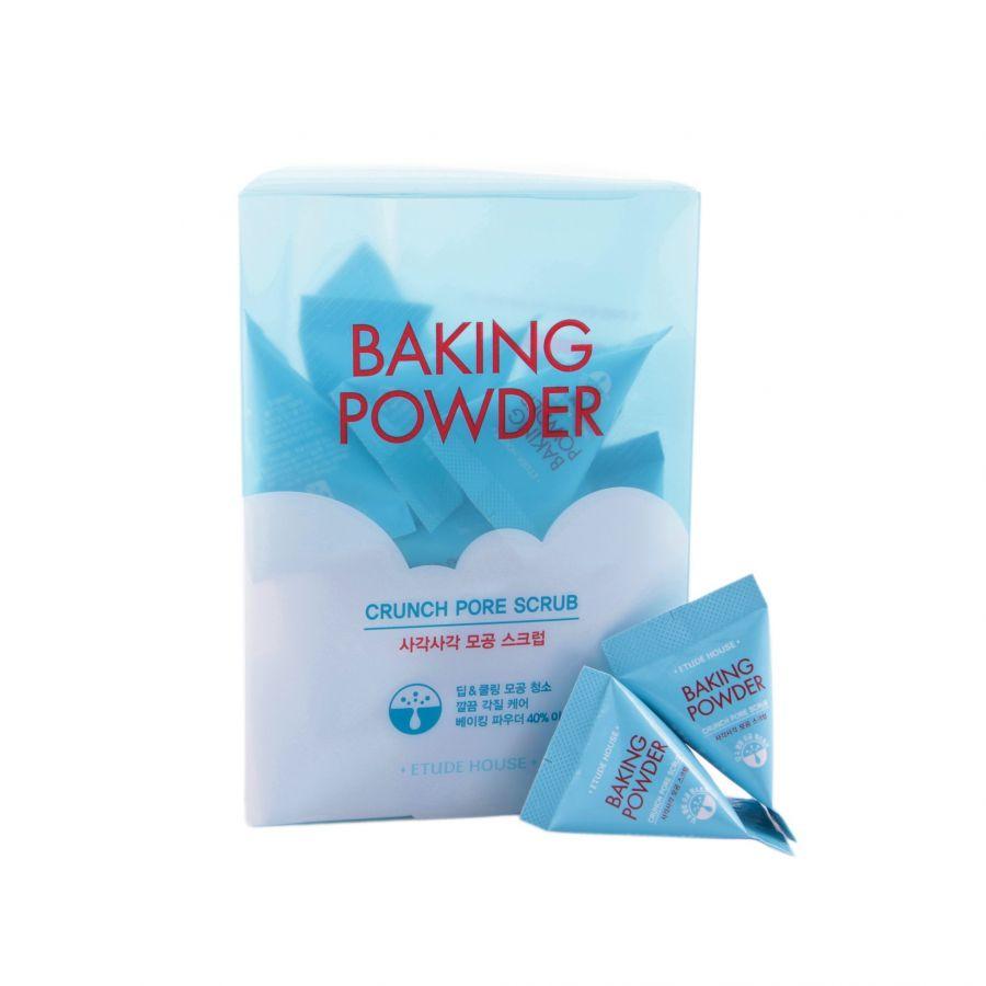 Скраб для очищения пор Etude House Baking Powder Crunch Pore Scrub, 1 шт