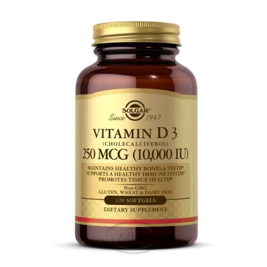 Витамин Д3 10.000МЕ, 120 капсул