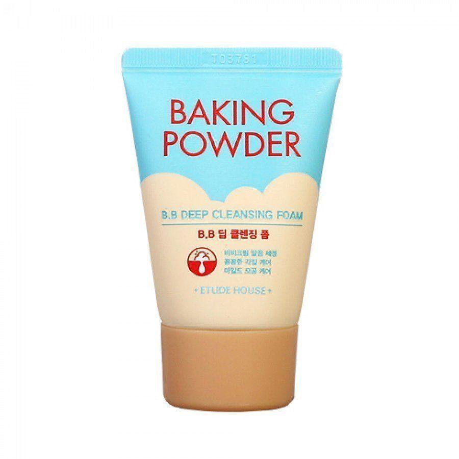 Пенка очищающая для снятия BB-крема с содой Etude House Baking Powder B.B Deep Cleansing Foam 30 мл
