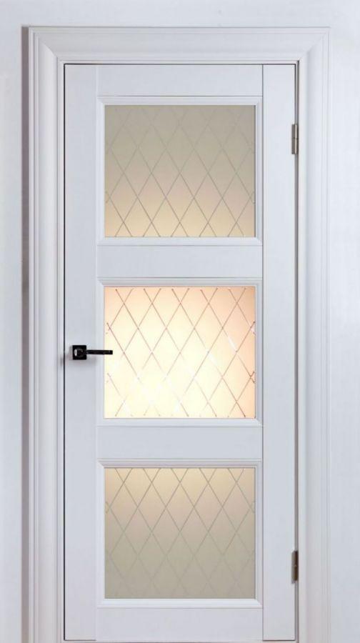 Дверной блок Classik 2S 3 Белый Шёлк