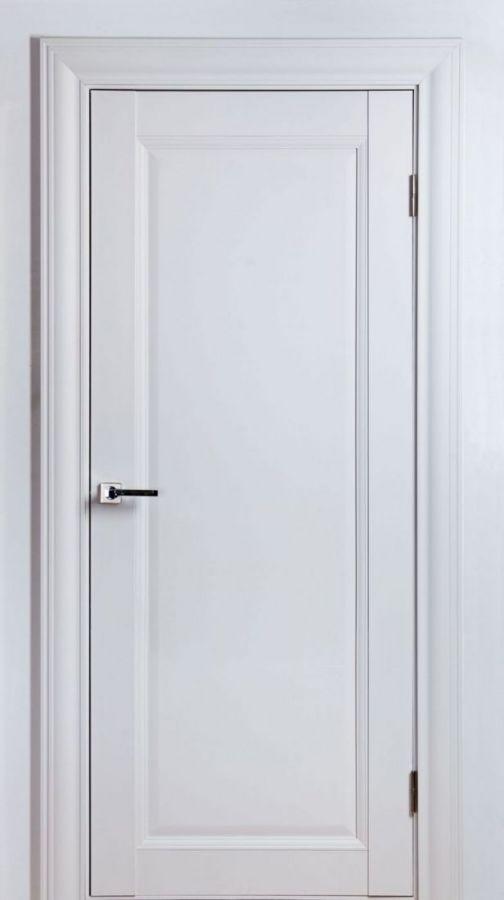 Дверной блок Classik-3F Белый Шёлк