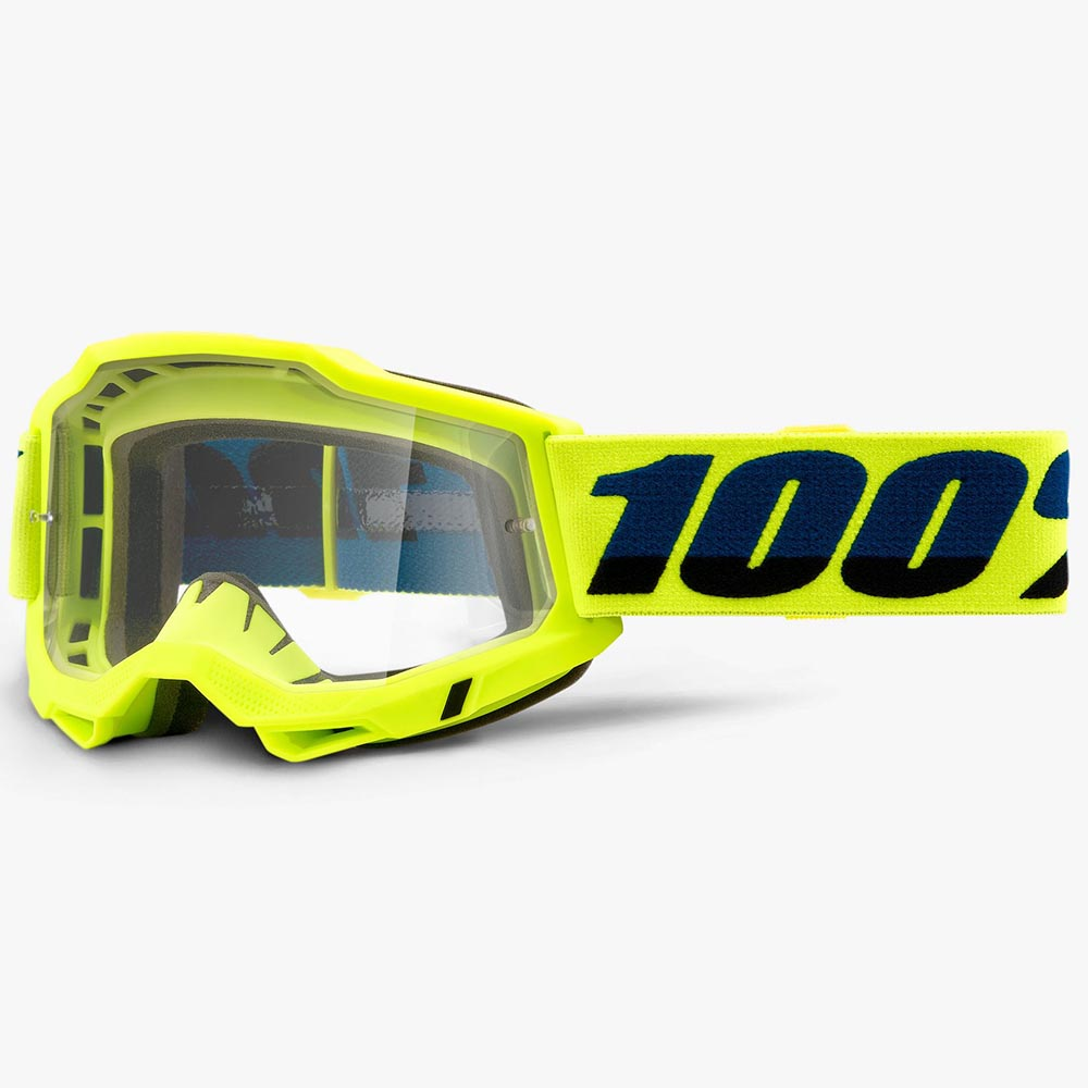 100% Accuri 2 Fluo Yellow Clear Lens, очки