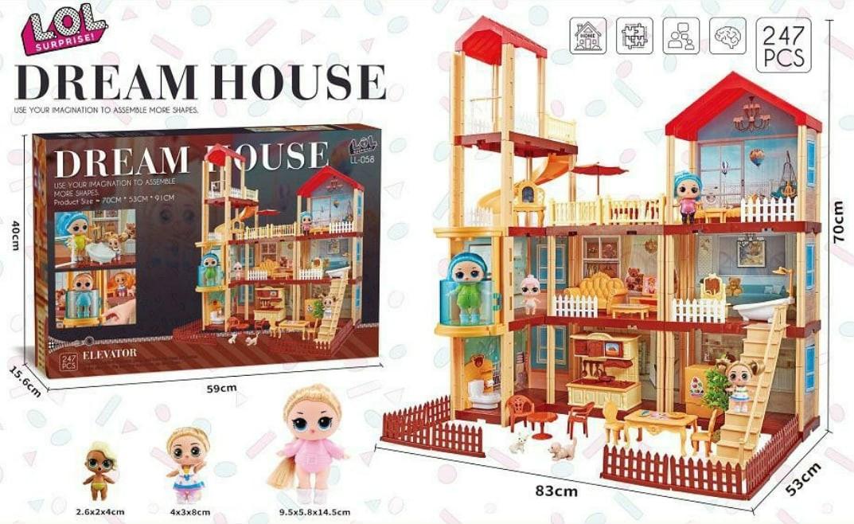 Кукольный дом LOL Большой