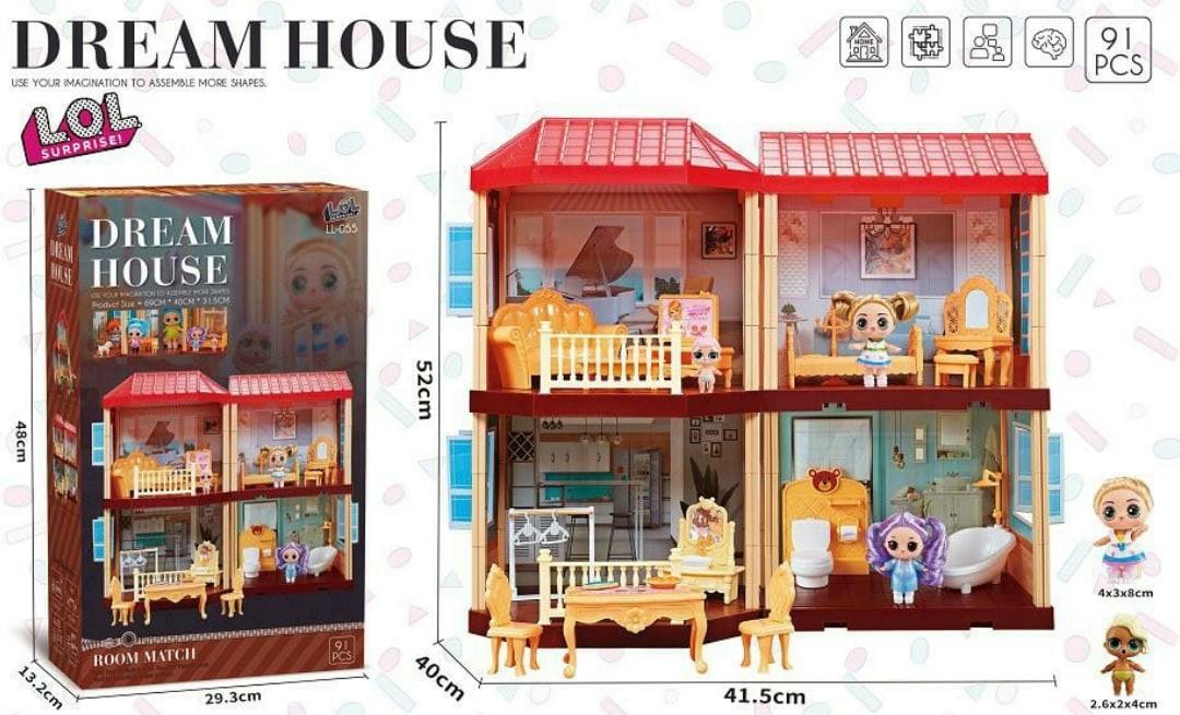 Кукольный дом LOL Средний