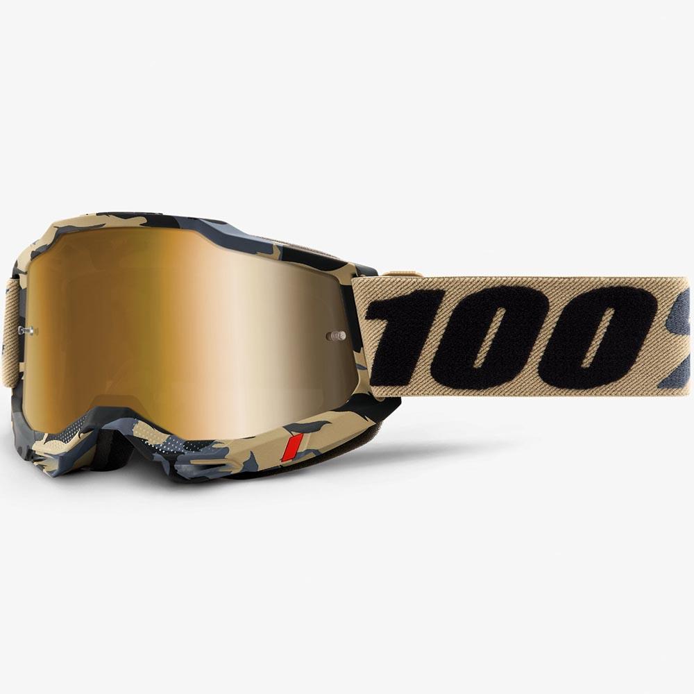 100% Accuri 2 Tarmac Mirror Gold Lens, очки