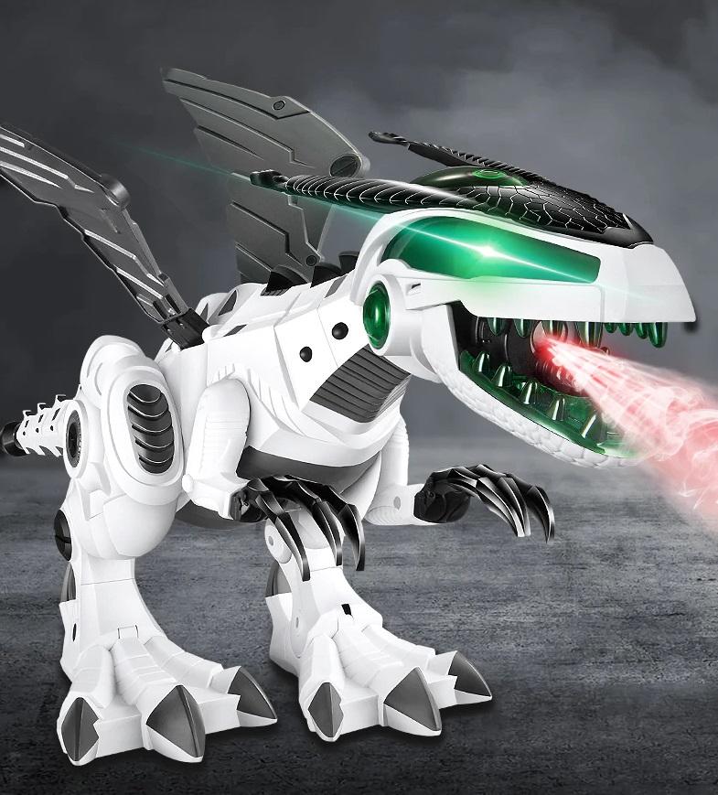 Интерактивная электрическая игрушка ERA-DINO динозавр с паром