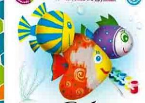 Магниты Рыбки Шар-папье