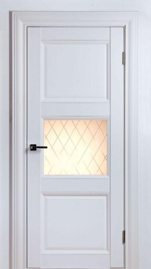 Дверное полотно Classik 2S 1 Белый Шёлк