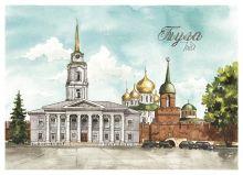 Почтовая открытка Тула