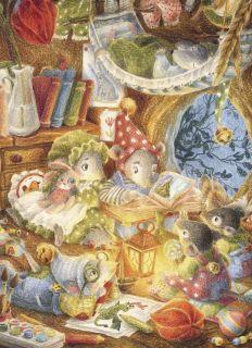 Почтовая открытка Мышата