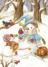 Snowman and Mouse