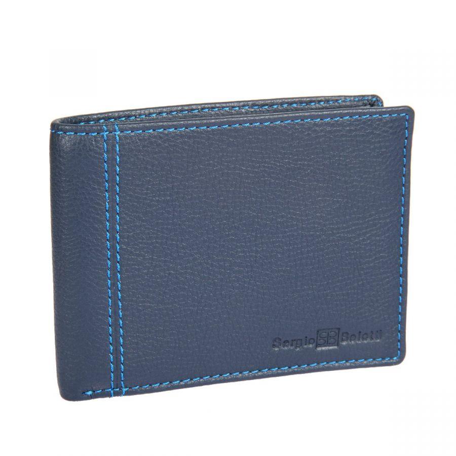 Портмоне Sergio Belotti 396 indigo jeans