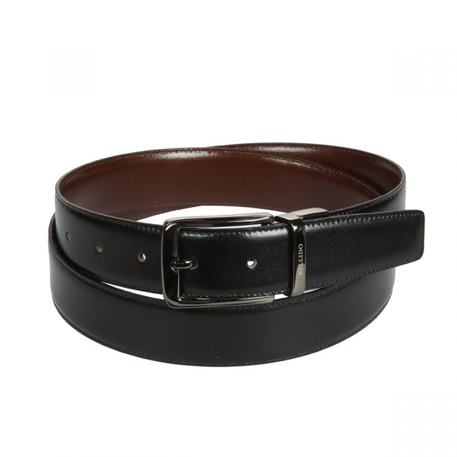 Ремень Miguel Bellido 430/32 4835/09 black/brow