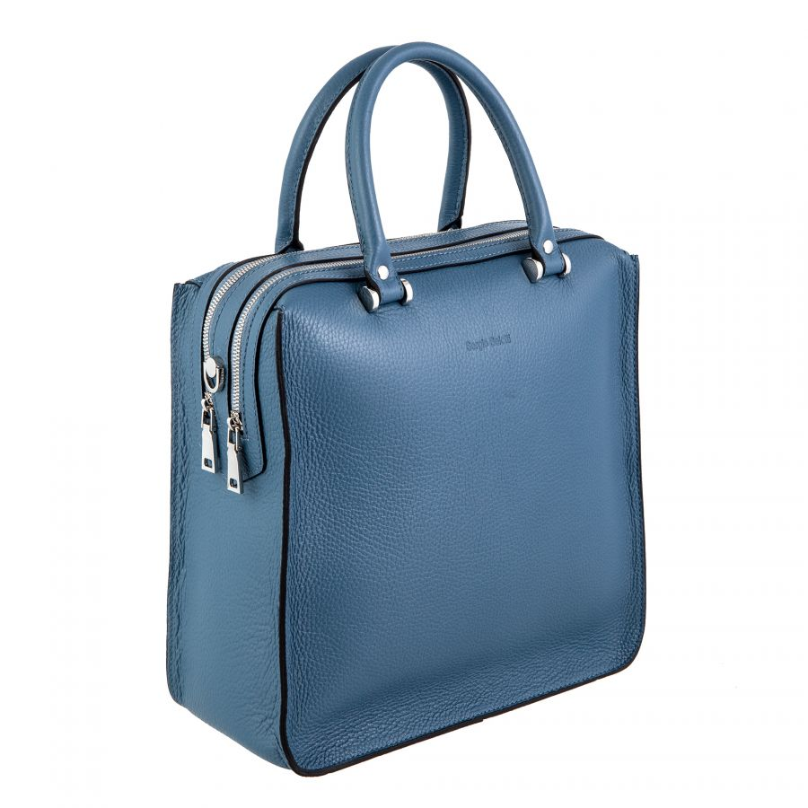 Cумка Sergio Belotti 6455 blue steel Napoli