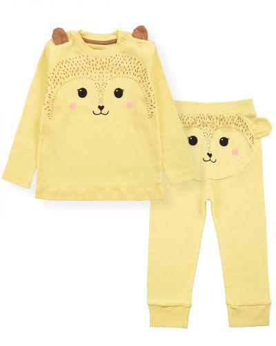 """Костюмчик для новорожденных Bonito kids """"ZOO"""" желтый"""
