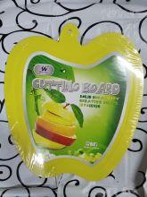 Доска разделочная Яблоко 30см, пластик