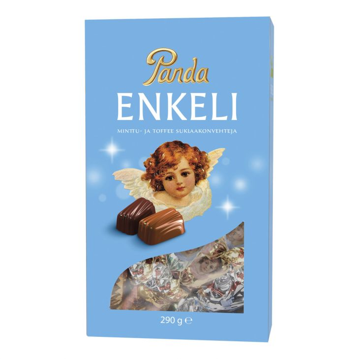 Конфеты PANDA ENKELI 290 гр с мятой и ирисом