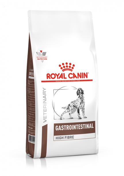 Корм сухой ROYAL CANIN Gastrointestinal High Fibre  для собак при запоре, диарее, колите 2кг