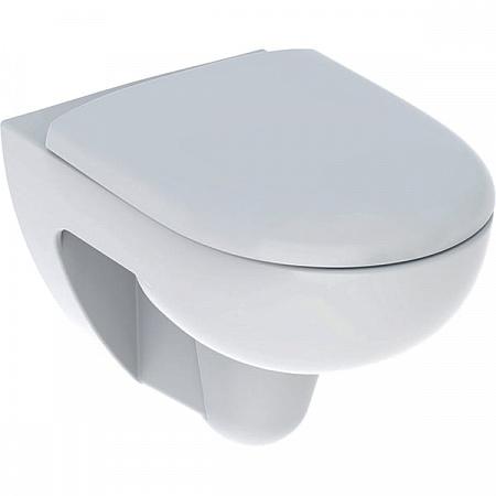 Унитаз подвесной Geberit Renova 500.801.00.1 безободковый с сиденьем микролифт