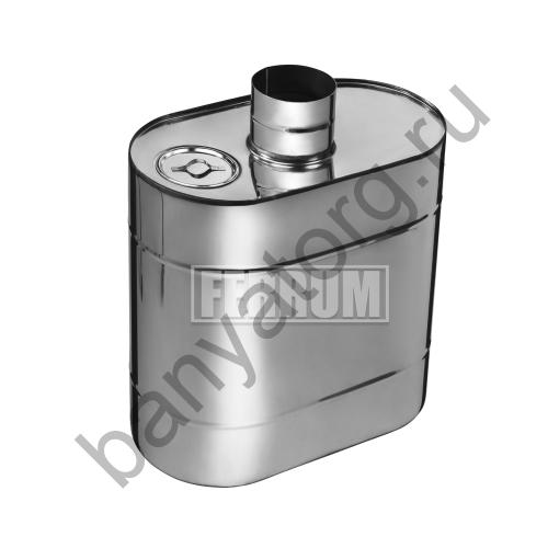 Бак Комфорт эллиптический с трубой 60л d115 Ferrum