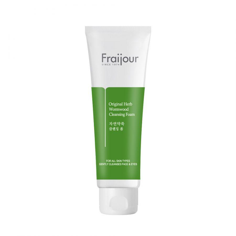 Пенка для умывания с экстрактом полыни Fraijour Original Herb Wormwood Cleansing Foam, 150 мл