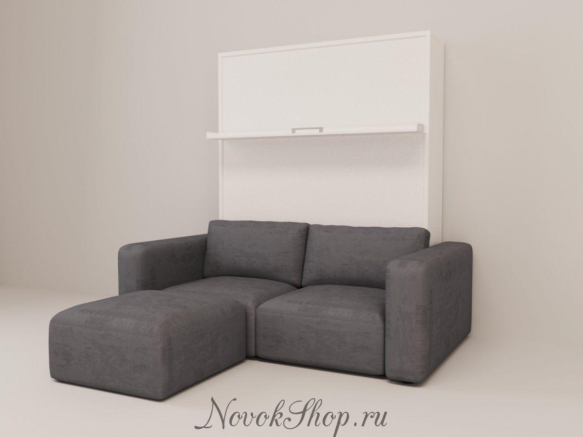 Шкаф-диван-кровать СМАРТ-1 +Пуф