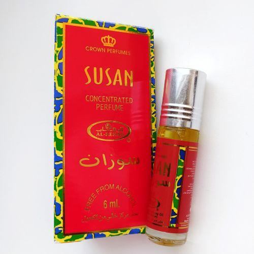 Арабские масляные духи Susan | Сьюзан | 6 мл | Al-Rehab | Женский