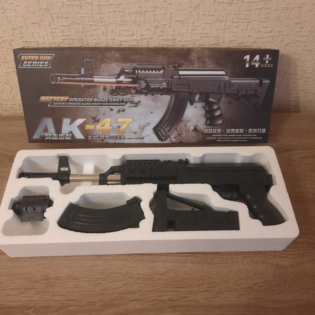 Пневматический автомат АК-47