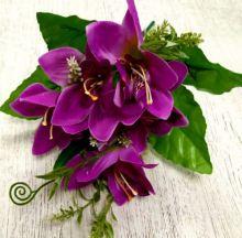 """Букет орхидея """"Тезенис"""" 7630 фиолет"""