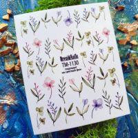 Слайдер-дизайн «Цветы» TM - 1130 Dream Nails (водные наклейки)