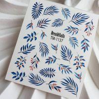 Слайдер-дизайн «Цветы» TM - 1137 Dream Nails (водные наклейки)