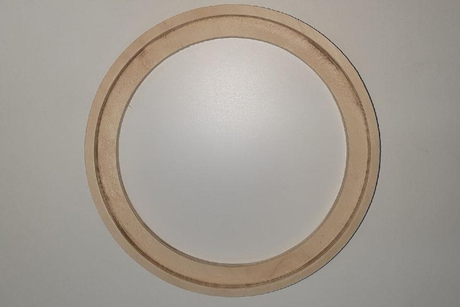 Кольцо проставочное 20 см с утоплением или без