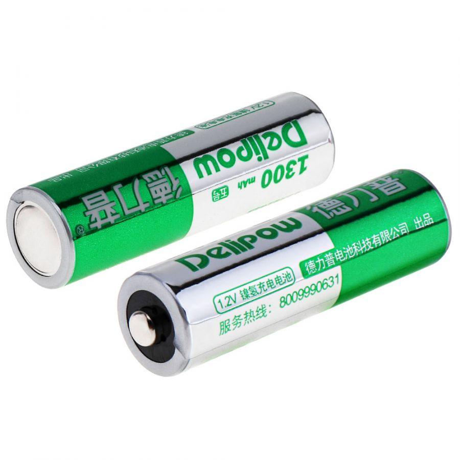 Delipow R6 AA аккумулятор (1300 mAh,1.2V)