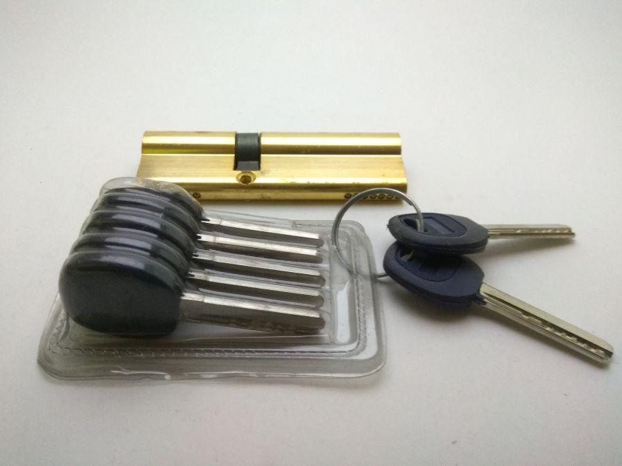 Цилиндровый механизм перфо 100 мм