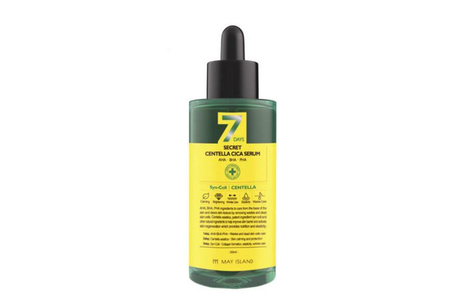 Обновляющая сыворотка для проблемной кожи 7days secret centella cica serum 50ml