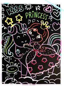 Гравюра Принцесса