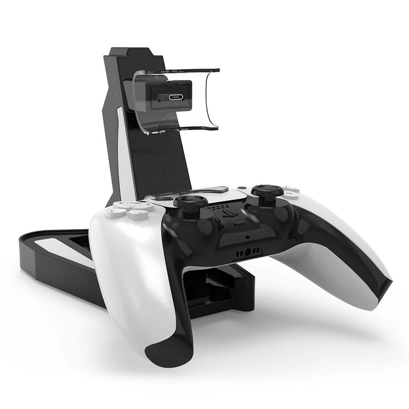 Зарядная станция для геймпадов Sony DualSense PS5 TWO CONTROLLERS CHARGING STAND
